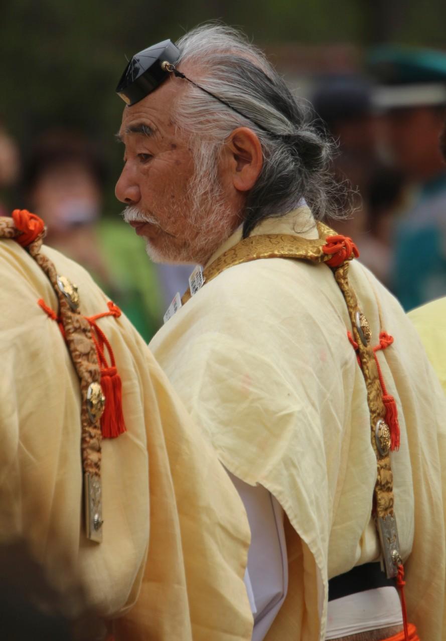 京都市 Kyōto, Ho-Taiko Hanami Gyoretsu (Toyotomi Hideyoshi's cherry blossom viewing parade)