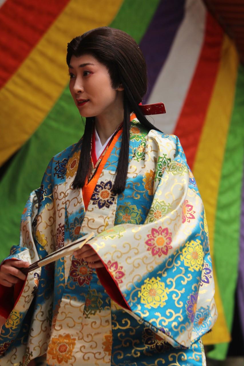 京都市, 醍醐寺 Daigoji, Ho-Taiko Hanami Gyoretsu (Toyotomi Hideyoshi's cherry blossom viewing parade)