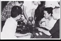 塩化水素の噴水実験・昭和41年