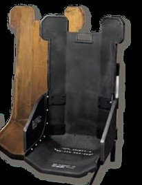 PIC armored rear seat