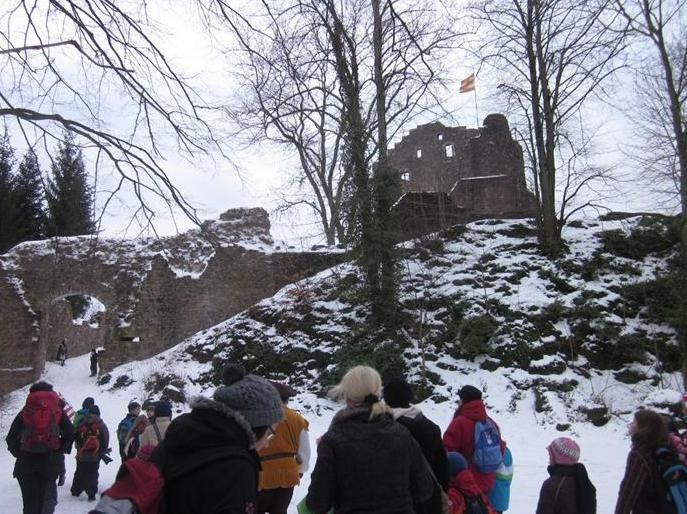 Ritter und Burgen - Besichtigung der Hohengeroldseck