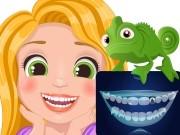Игра малышка Рапунцель у стоматолога