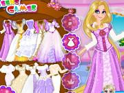 Игра свадебная одевалка Рапунцель