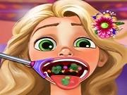 Игра Рапунцель у стоматолога