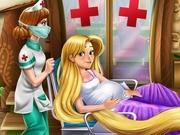 Игра Рапунцель рожает ребенка
