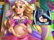 Игра беременная Рапунцель в больнице онлайн