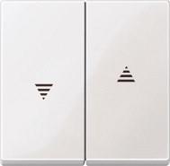 Merten Wippe Kontrollfenster System M 436019 Polarweiß Glänzend