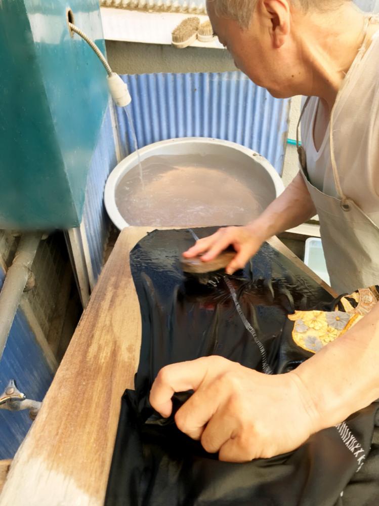洗い張り 洗張りとは 着物お手入れ 湯のし 湯通し 横須賀
