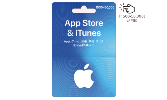 appleバリアブルギフトカードでお支払いが出来ます。