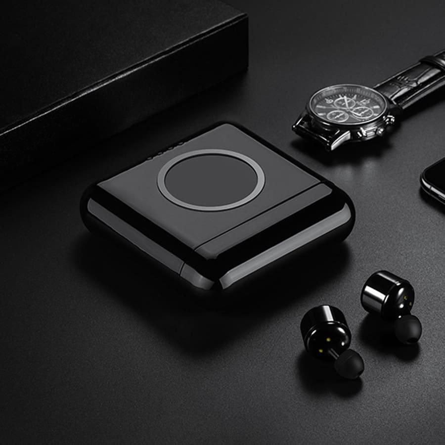 完全ワイヤレスイヤホン X4T 黒 BLACK ブラック
