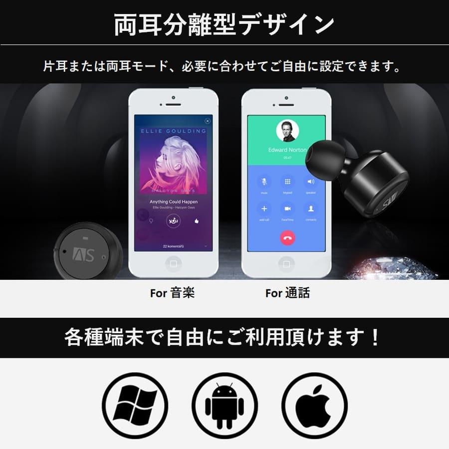 完全ワイヤレスイヤホン X4T iPhne Android 使用