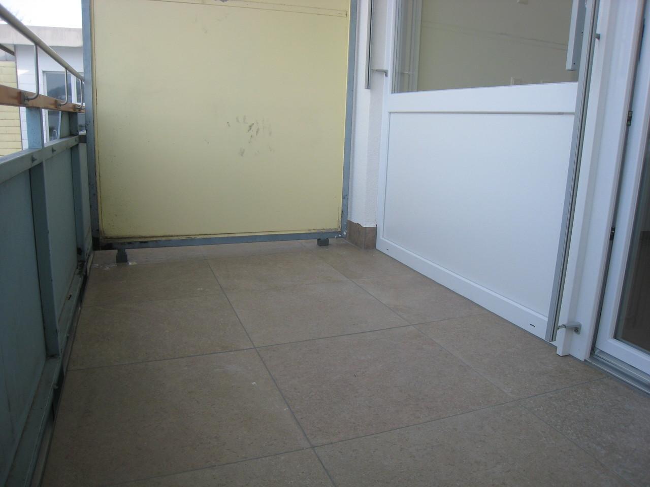 Balkon 1 - nach Sanierung mit F-auf- F System