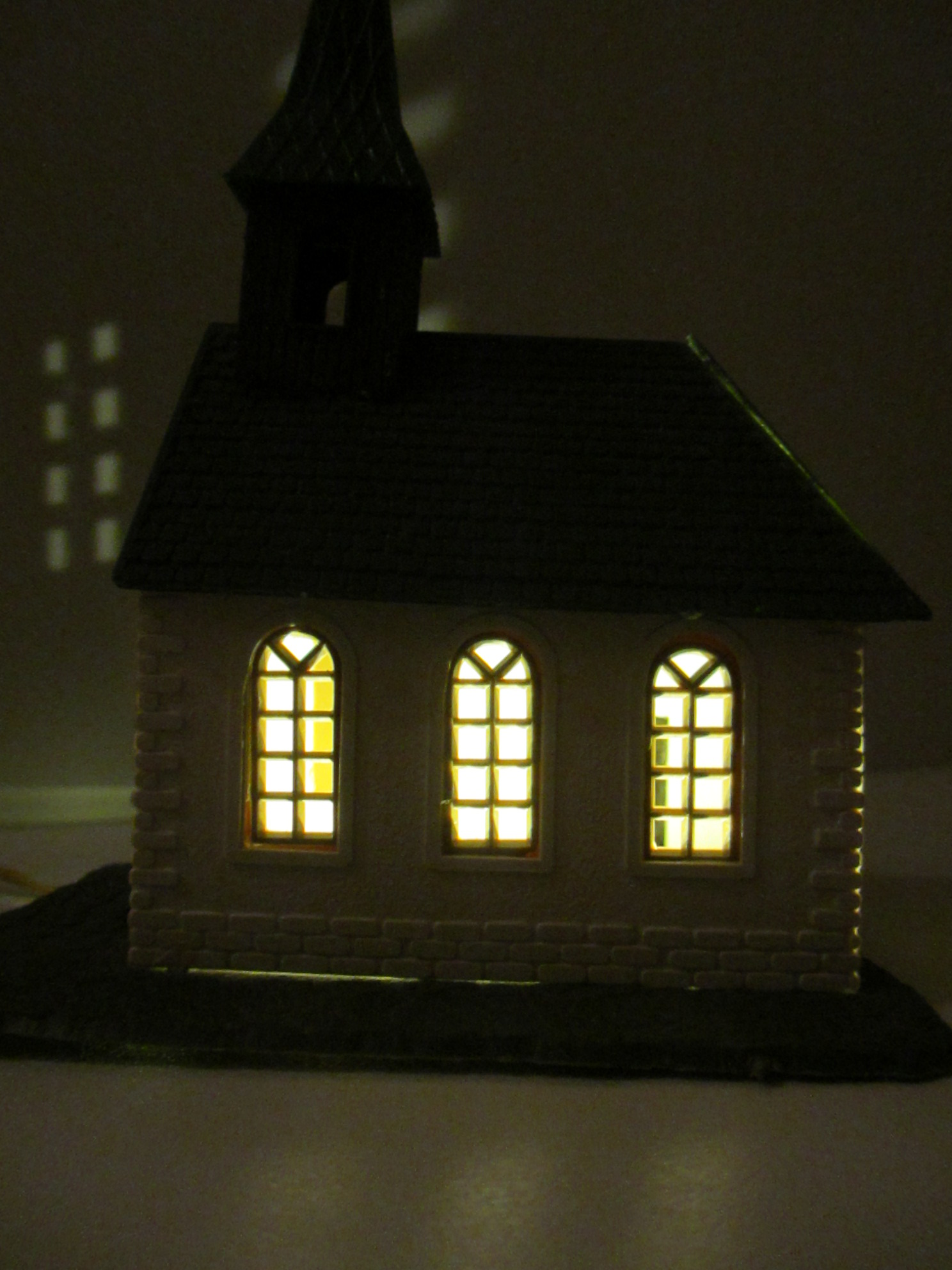 Kirche mit 1 x KELLTEC Universal / Häuserbeleuchtungen