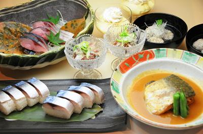 共通コース料理の写真