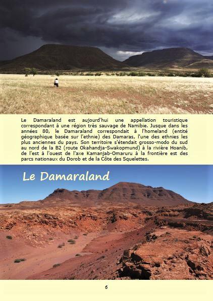 Le Damaraland ; Géologie, faune et flore de Namibie