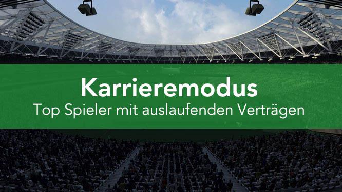 FIFA 22 - Top ablösefreie Spieler mit auslaufendem Vertrag im Karrieremodus