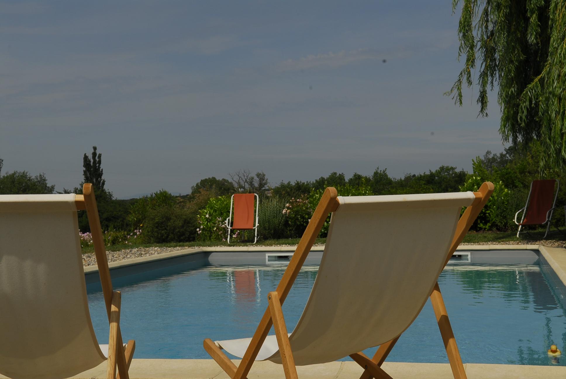 chambres d hotes grignan avec piscine drome provencale taulignan