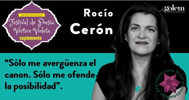 Poemas de Rocío Cerón