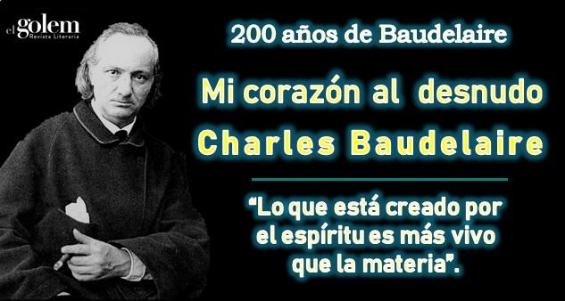 Ensayo de Charles Baudelaire