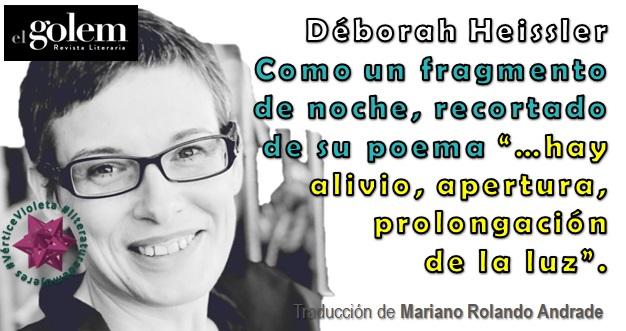 Poemas de Déborah Heissler