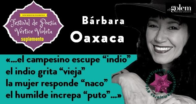 Poemas de Bárbara Oaxaca