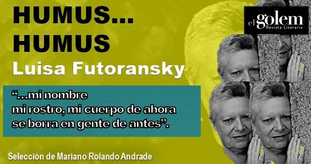 Humus.. humus. Poemas de Luisa Futoransky