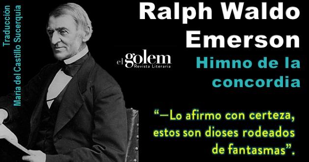 Poema de Ralph Waldo Emerson