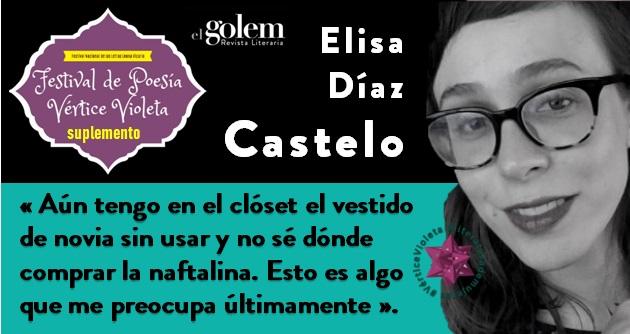 Poemas de Elisa Díaz Castelo