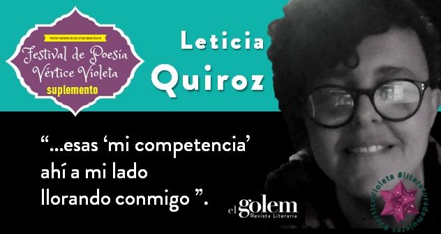 Poemas de Leticia Quiroz