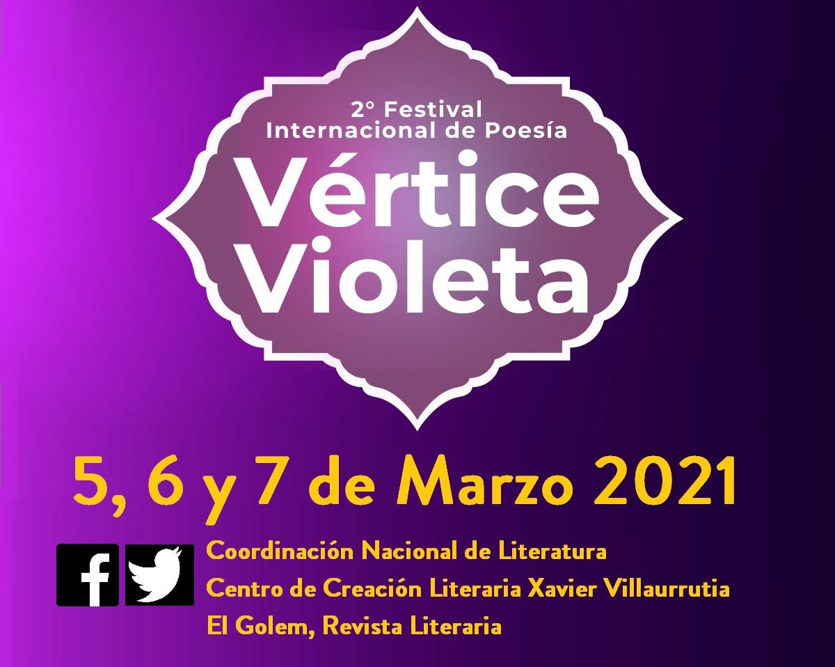 Segundo Festival Internacional de Poesía Vértice Violeta