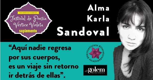 Poemas de Alma Karla Sandoval