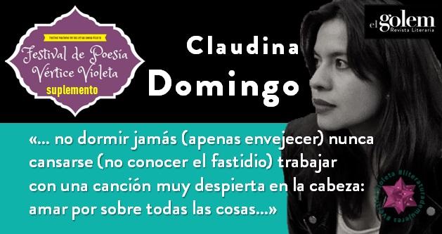Poemas de Claudina Domingo