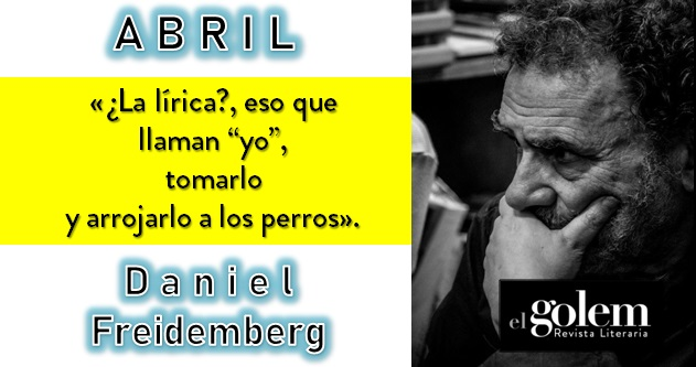 Poesía de Daniel Freidemberg