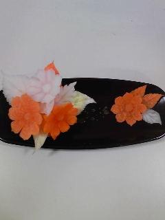 カービング タイの花-1