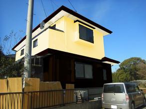 熊本K様家の外壁塗装カラーシミュレーション。
