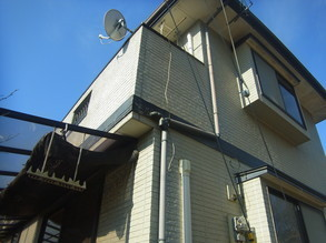 熊本K様家の外壁塗装前BEFORE