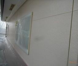 外壁サイディング:中塗り スーパー無機ガード