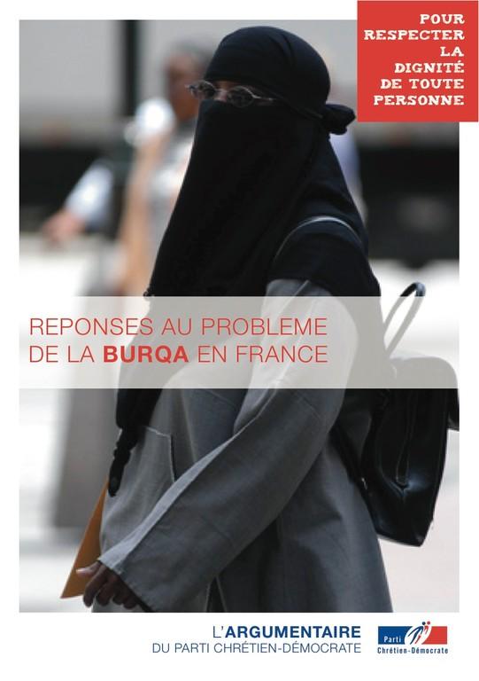 Argumentaire 5 - Burqua - Réponses au problèmes de la burqua en France