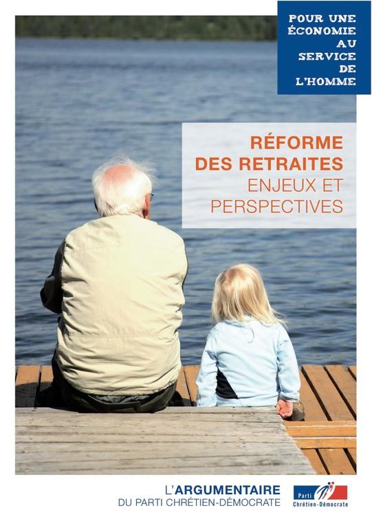 Argumentaire 4 - Retraites - Réforme des retraites, enjeux et perspectives