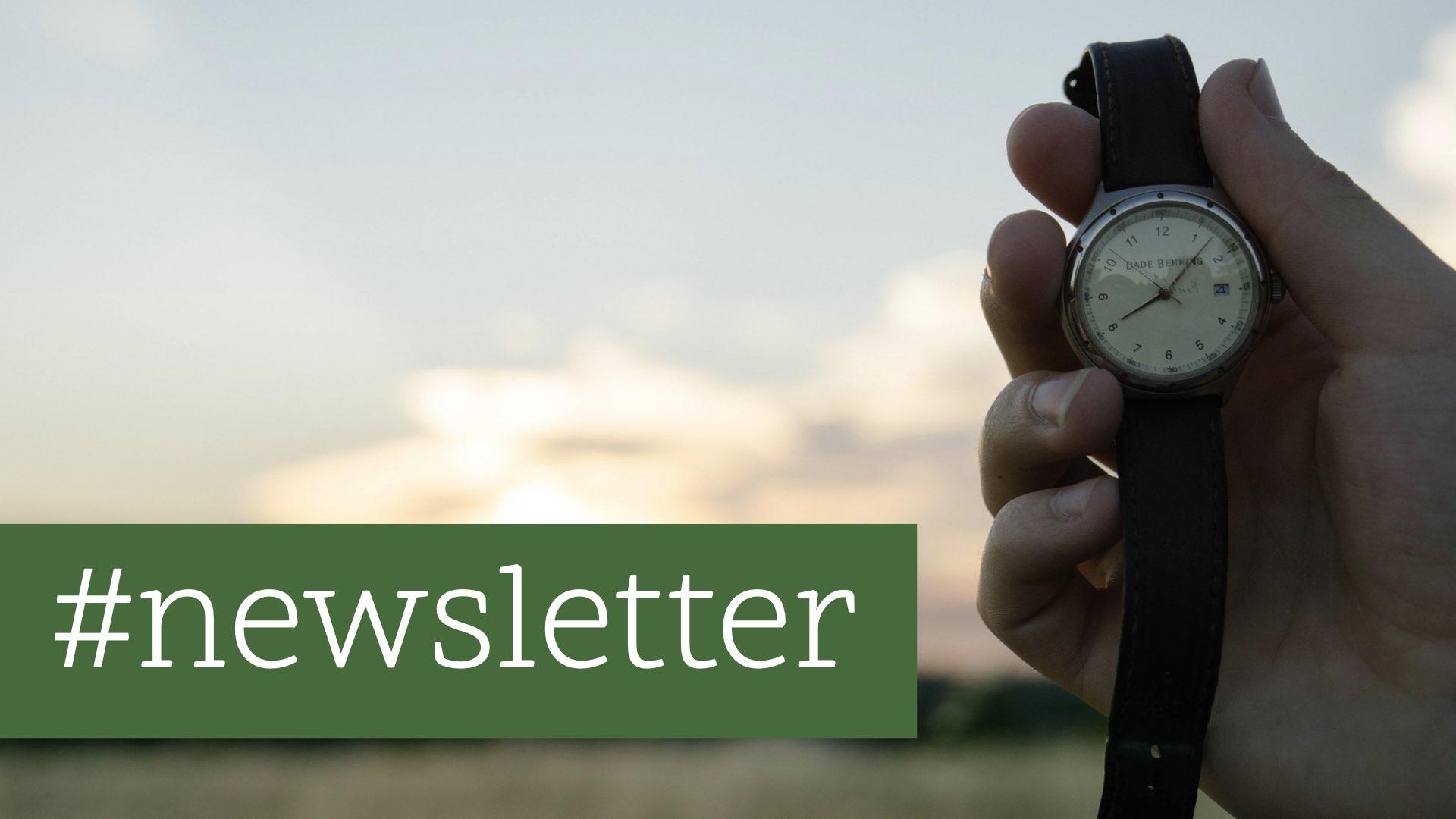 Der richtige Zeitpunkt für deinen Newsletter