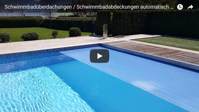 Schwimmbadabdeckungen automatisch und Schwimmbadüberdachungen Video von Aquakonzept-Schwimmbadtechnik