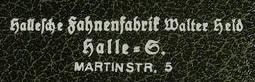 Fahnenfabrik Halle a.d. Saale Etui