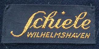 Stoffetikett Schiele Wilhelmshaven