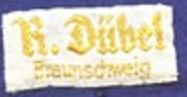 Stoffetikett Dübel Braunschweig