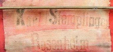 Tintenstempel  K. Stemplinger Rosenheim in Bayern