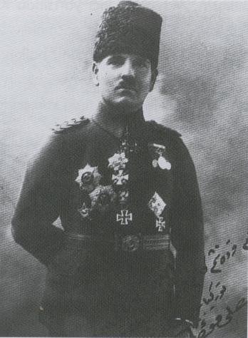 Osmanischer General Ali Fuad Cebesoy (Wiki)