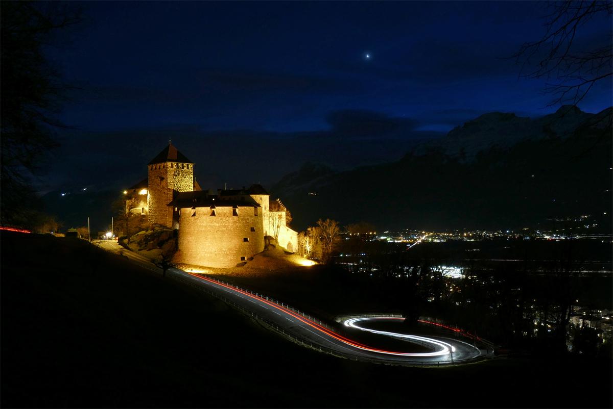Schloss Vaduz Fürstentum Liechtenstein