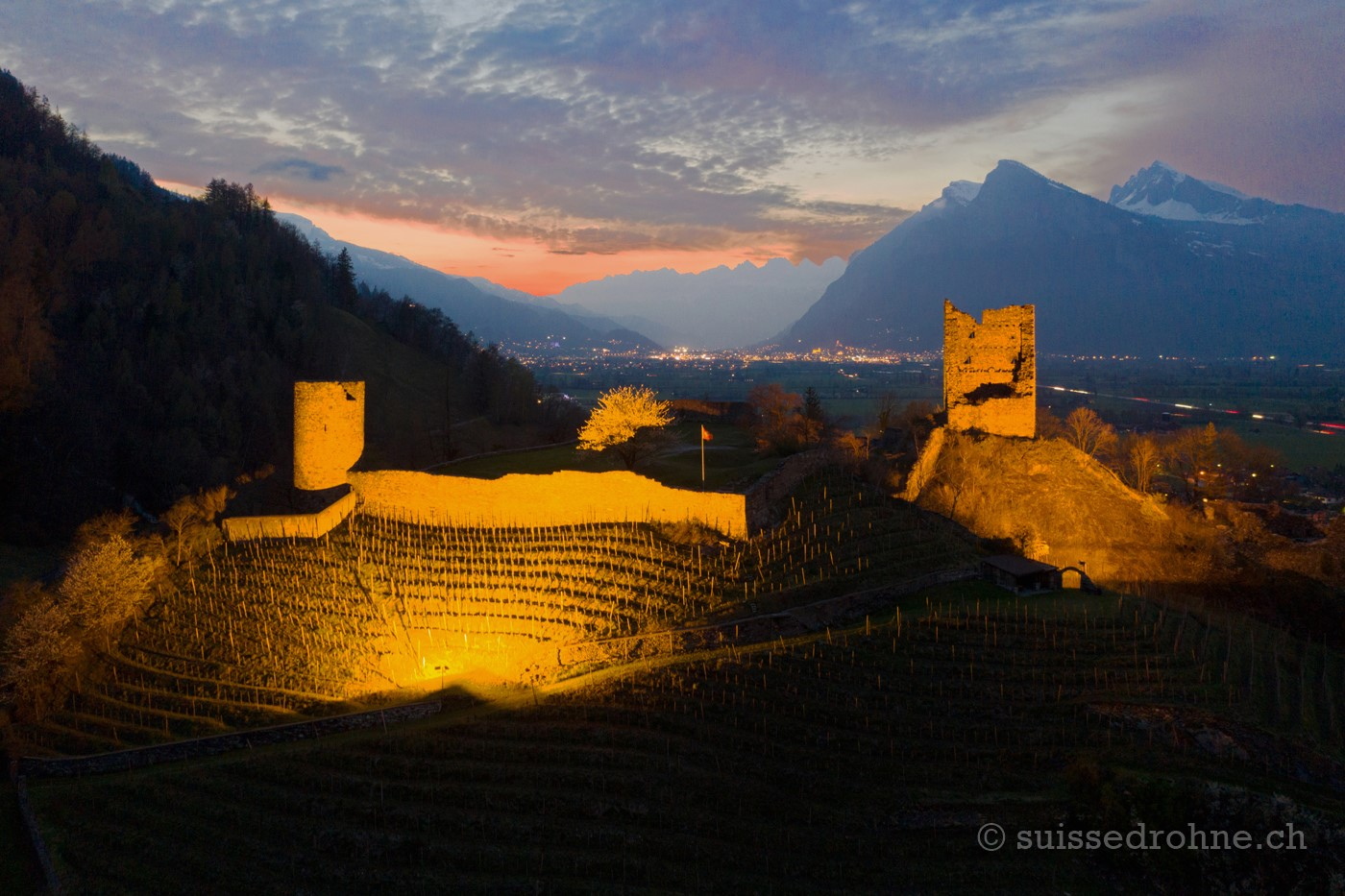 Ruine Freudenberg Bad Ragaz
