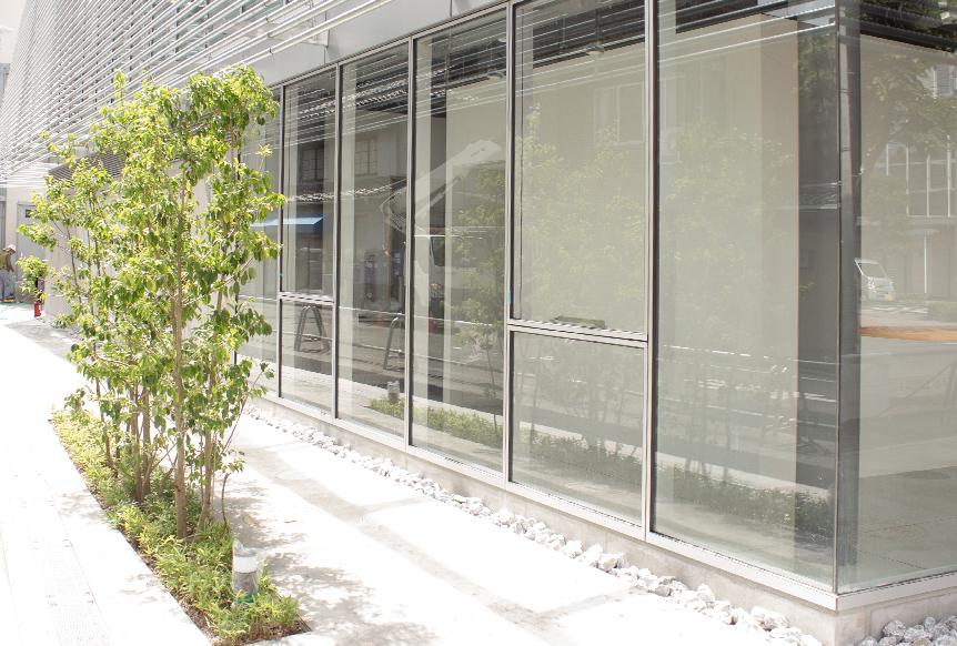施工事例掲載のお知らせ「岡山県岡山市オフィス外構 」へ塊、G-80(粒度80~40mm)採用いただきました。