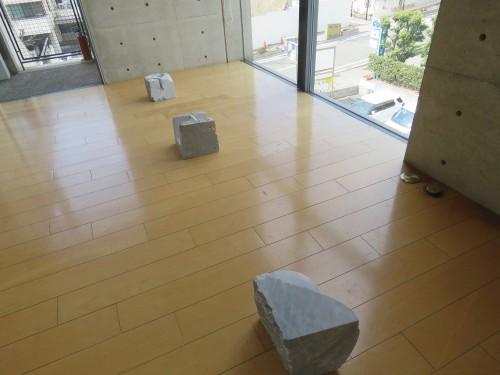 石彫家 クボタケシ様作品展にお伺いしました。